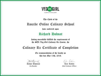 Twocolumn certificate partners veg stl girl