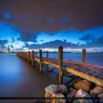 Fishing Pier at South Causeway Park Fort Pierce Florida