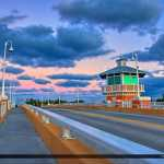 Lantana Florida Drawbridge Amazing Colors and Clouds