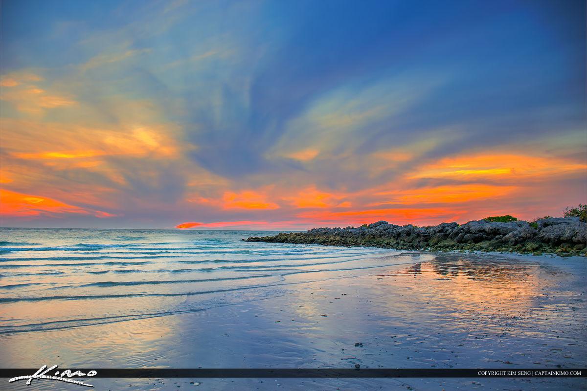 3 on Naples Florida Pier Sunset