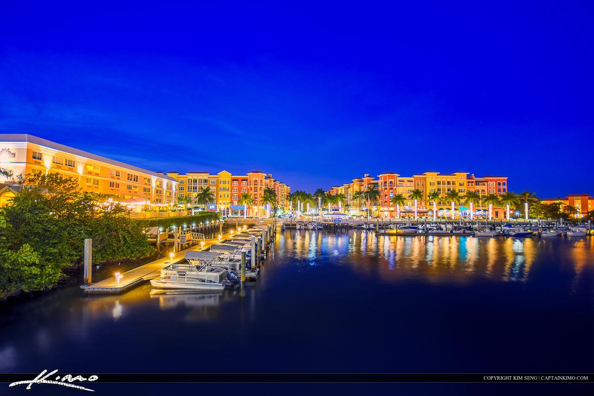 Marina Naples Florida Boats At Riverwalk Royal Stock Photo - Florida naples
