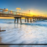 Anglins Fishing Pier at Lauderdale by the Sea During Sunrise