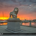 Bridge of Lions Sunrise St Augustine Florida