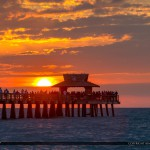 Full House Naples Pier Sunset