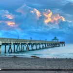 Before Sunrise at the Deerfield Beach Pier