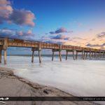 Vero Beach Pier Long Exposure
