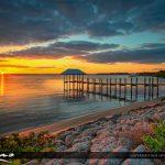 Beautiful Sunset at the Pier Hutchinson Island Stuart Florida