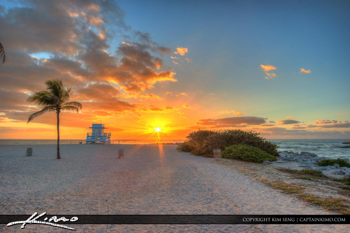 Haulover Beach Park Sunset