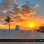 Haulover Park Florida Beach Panorama Sunrise