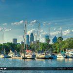 Tampa Florida Boats at Marina