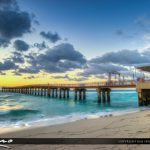 Sunny Isles Beach Newport Fishing Pier Florida