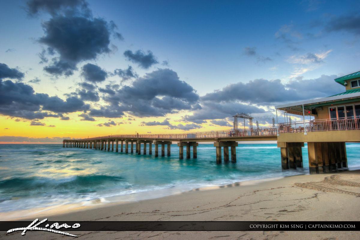 North Miami Beach Newport Fishing Pier Florida