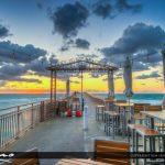 Newport Beach Fishing Pier Sunrise Sunny Isles Florida