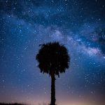 MIlkyway Over Okeechobee City West Farm Land