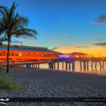 Dania Beach Pier at the Quarterdeck Restaurant