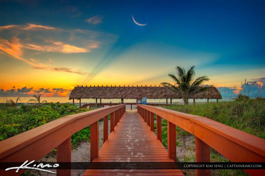 Boardwalk to Beach Singer Island Florida