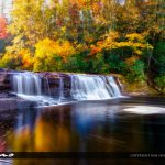 Fall Colors at Hooker Falls Dupont State Forest North Carolina