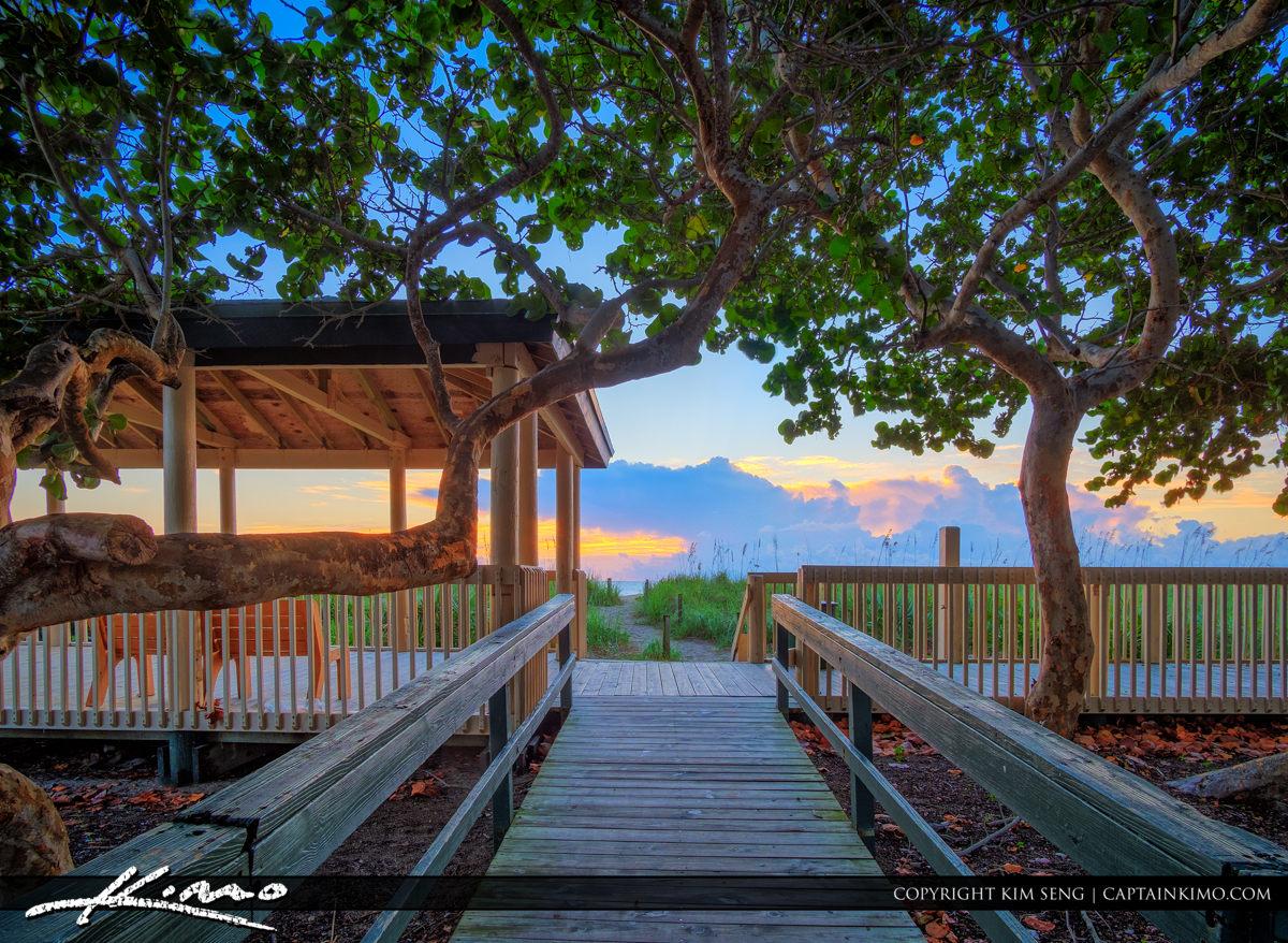 South Beach Boardwalk Fort Pierce