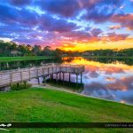 Coconut Park Sunset West Palm Beach Loxahatchee Florida