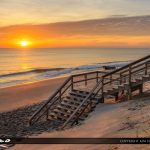 Beach Stairs Coral Cove Park Sunrise