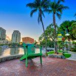 Fort Lauderdale Riverwalk New River Vertical