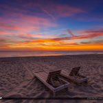 Beach Chair Sunrise South Florida Singer Island Florida