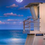 Ocean Cay Park Juno Beach Florida Full Moon
