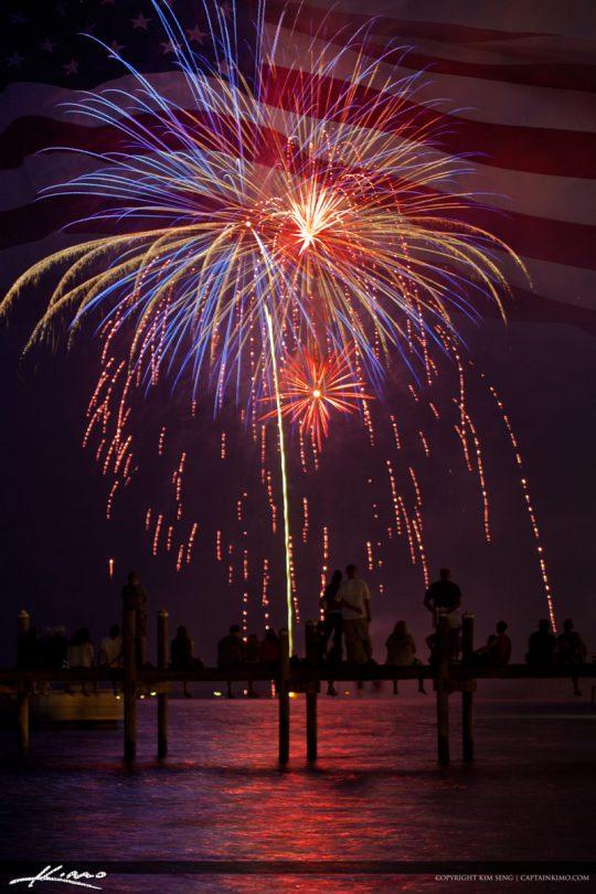 4th of July Fireworks Sebastian Florida