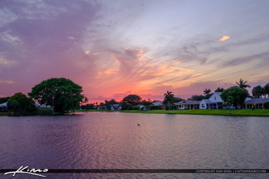 Palm Beach Gardens Neighborhood Waterfront Homes
