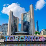 Toronto Canada Ontario City Hall and Sign