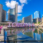 Nathan Phillips Square Toronto Canada Ontario People Photographi