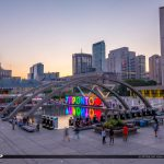 Nathan Phillips Square Toronto Canada Ontario Toronto Sign at Ni