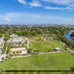 Aerial Anchorage Park North Palm Beach Florida