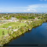 Anchorage Park Waterway and Pier North Palm Beach Florida