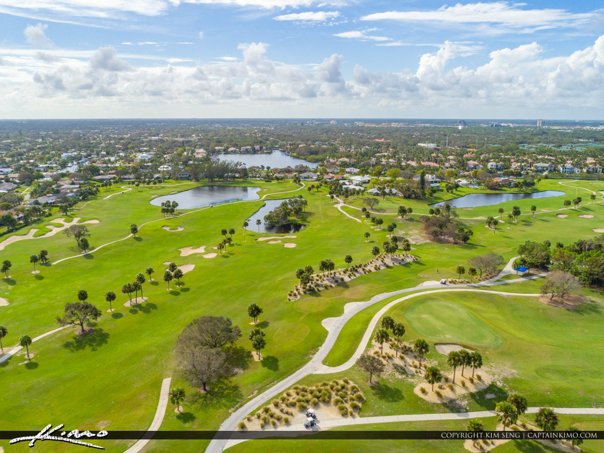 North Palm Beach Country Club Golf Course Florida | Royal Stock Photo