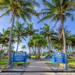 Coconut Tree Sign Jetty Park Fort Pierce Florida