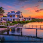 1000 North Jupiter Florida Sunset from Fishing Pier