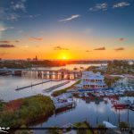 1000 North Sunrise Lighthouse Waterway Restaurant