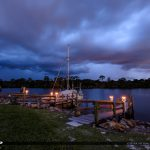 Stuart Florida Storm St Lucie River Loack and Dam Bike and Sailb