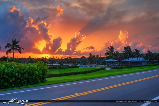 Ocean Cay Park Marcinski Road Juno Beach Florida Sunset