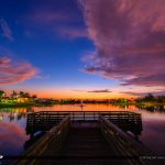 Lakeside Challenger Park Royal Palm Beach Sunset