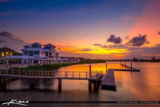 1000 North Sunset Floating Dock Jupiter Florida