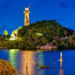 Holiday Lights at the Jupiter Lighthouse