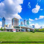 Atlanta Georgria Downtown Skyline