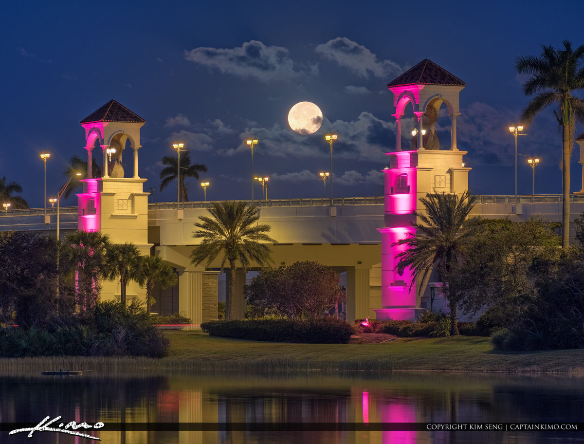 Full Moon Rise West Palm Beach
