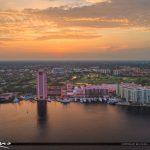 Beautiful view Boca Resort Over Lake Boca Raton
