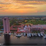 Boca Resort Sunset at Waterway Golf Course
