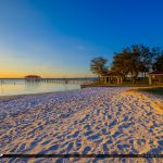 Beach Sand Lake Jackson Fishing Pier Sebring Florida