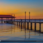 Fishing at the Lake Jackson Fishing Pier Sebring Florida
