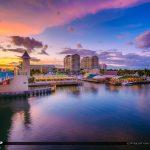 Boynton Beach Florida Sunset Waterway